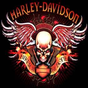 Harley Davidson - polštář