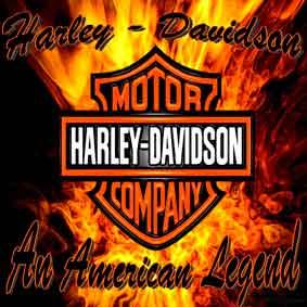 Harley Davidson - polštář 3
