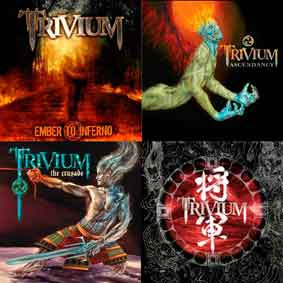 Trivium - polštář 3