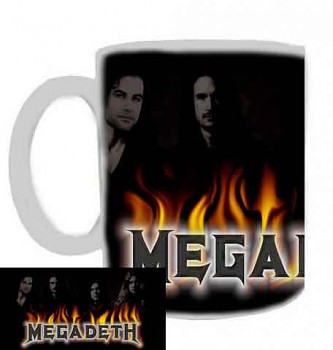 hrníček - Megadeth - hrnek 1