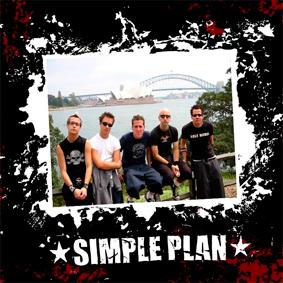 Simple Plan - polštář 1