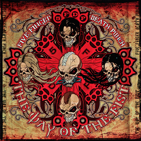 Five Finger Death Punch - polštář 1