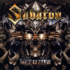 Sabaton - Metalizer - polštář