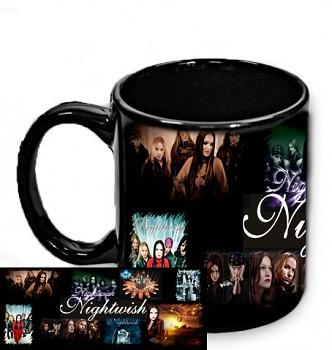 Nightwish - hrnek černý