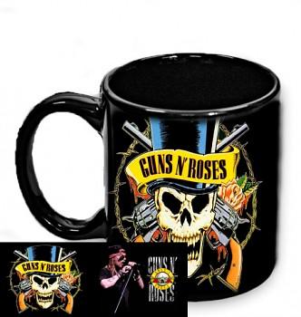 Guns N Roses - hrnek černý
