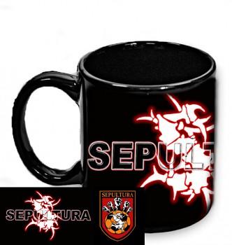 Sepultura - hrnek černý 2