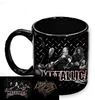 Metallica - hrnek černý 1