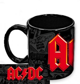 AC/DC - hrnek černý 3