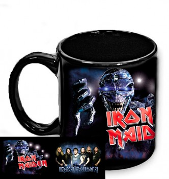 Iron Maiden - hrnek černý 1