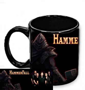 Hammerfall - hrnek černý 1