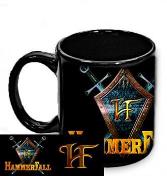 Hammerfall - hrnek černý 3