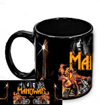 Manowar - hrnek černý 1