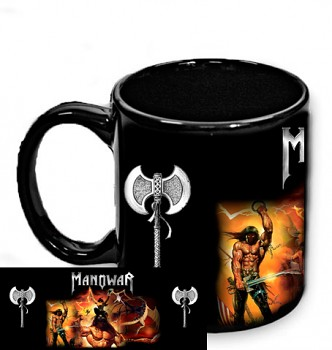 Manowar - hrnek černý 2