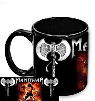 Manowar - hrnek černý 3