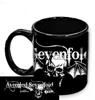 Avenged Sevenfold - hrnek černý 1