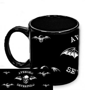 Avenged Sevenfold - hrnek černý 3