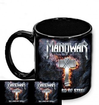 Manowar - The Lord Of Steel - hrnek černý
