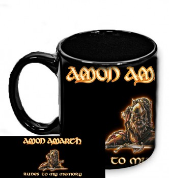Amon Amarth - hrnek černý 1