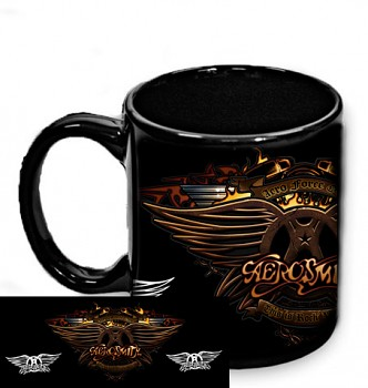 Aerosmith - hrnek černý 2