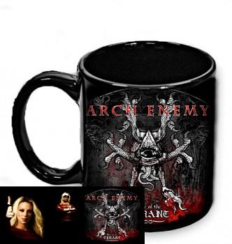 Arch Enemy - hrnek černý