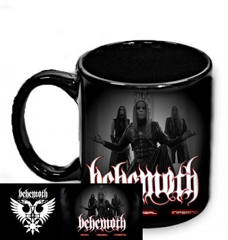 Behemoth - hrnek černý