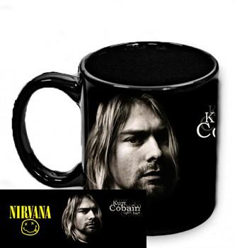 Nirvana - hrnek černý