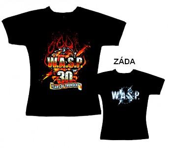 W.A.S.P. - tričko dámské