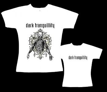 Dark Tranquillity - dámské tričko bílé