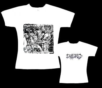 Exhumed - dámské tričko bílé
