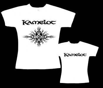 Kamelot - dámské tričko bílé