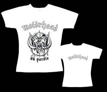 Motorhead - dámské tričko bílé