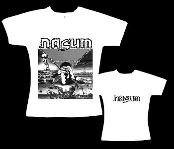 Nasum - dámské tričko bílé