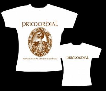 Primordial - dámské tričko bílé
