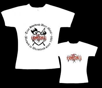 Vomitory - dámské tričko bílé