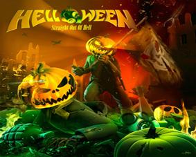 Helloween - Straight Out Of Hell - podložka pod myš