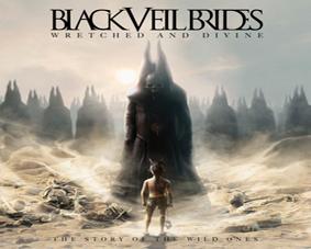 Black Veil Brides - Wretched And Divine - podložka pod myš