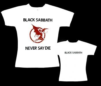 Black Sabbath - dámské tričko bílé