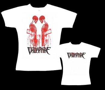 Bullet For My Valentine - dámské tričko bílé