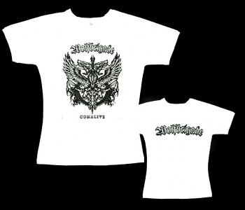Wolfbrigade - dámské tričko bílé