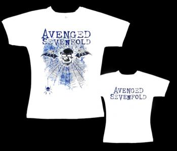 Avenged Sevenfold - dámské tričko bílé