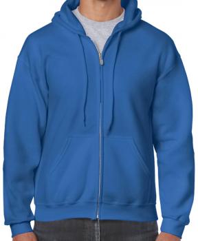 Gildan - mikina bez potisku - modrá