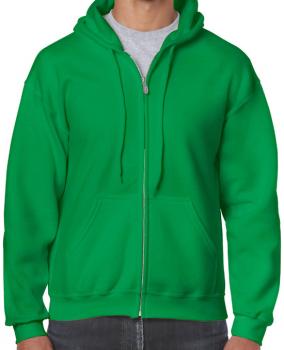Gildan - mikina bez potisku - zelená