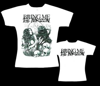 Bring Me The Horizon - dámské tričko bílé