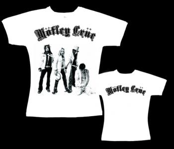 Mötley Crüe - dámské triko bílé