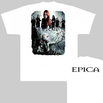 Epica - triko bílé