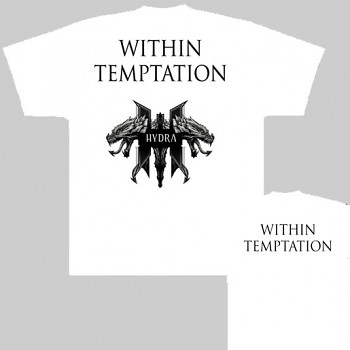 Within Temptation - triko bílé