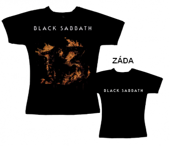 Black Sabbath - tričko dámské