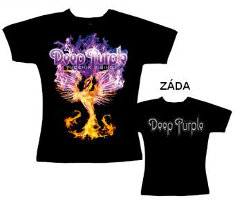 Deep Purple - tričko dámské