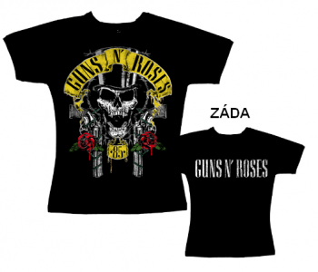 Guns N Roses - tričko dámské