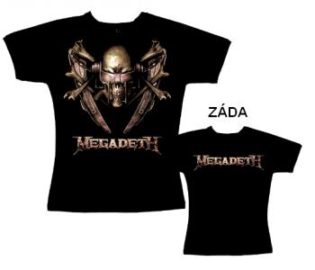 Megadeth - tričko dámské